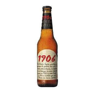 1906 Reserva Coupage Spanish Beer Bottle 330ml