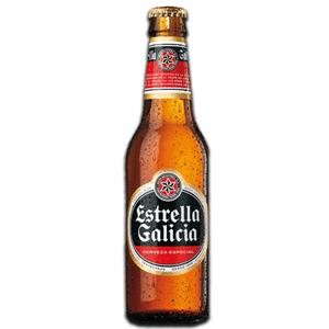 Estrella Galicia Spanish Beer 330ml
