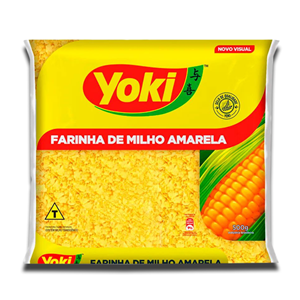 Yoki Farinha Biju de Milho Amarela 500g
