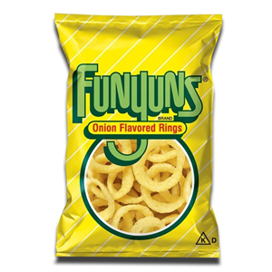Funyuns Onion Flavored Rings 163g