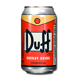 Duff Energy Drink Orange 355ml