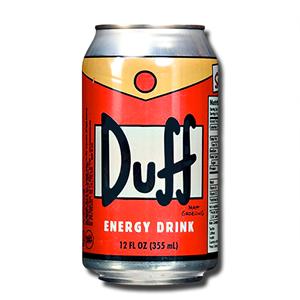 Duff Energy Drink Orange 355ml