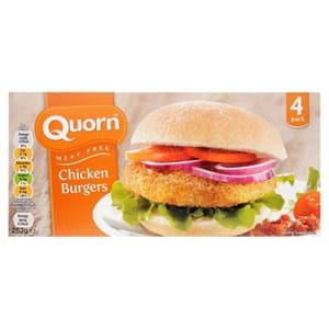Quorn Chicken Burgers 252g