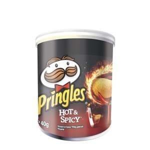 Pringles Hot & Spicy 40g