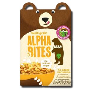 Bear Multigrain Alpha Bites Cereal 350g
