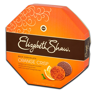 Elizabeth Shaw Orange Crisp Milk Chocolate 175g