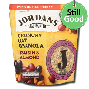 Jordans Crunchy Raisin and Almond 750g