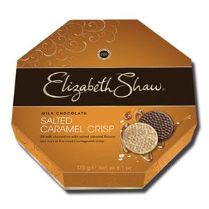 Elizabeth Shaw Salted Caramel Crisp Milk Chocolate 175g