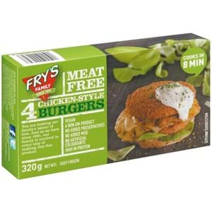 Fry's Meat Free Chicken Burgers 320g