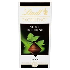 Lindt Excellence Dark With Mint 100g