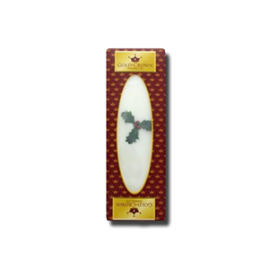 Gold Crown Christmas Iced Cake Bar Boxed 400g