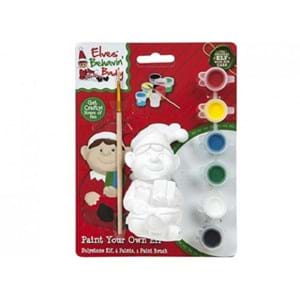 Christmas Paint Your Own Elf