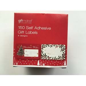 Giftmaker 150 Self Adhesive Gift Labels