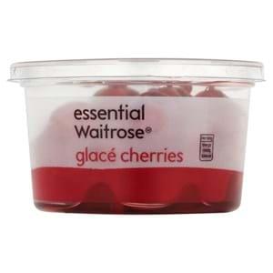 Waitrose Glacé Cherries 200g