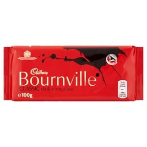 Cadbury Bournville Bar 100g