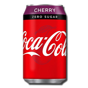 Coca Cola Cherry Zero 330ml