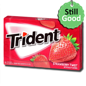 Trident Strawberry Twist 14'