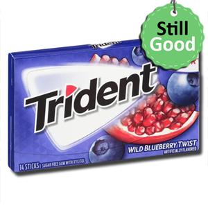 Trident Wild Blueberry Twist 14'