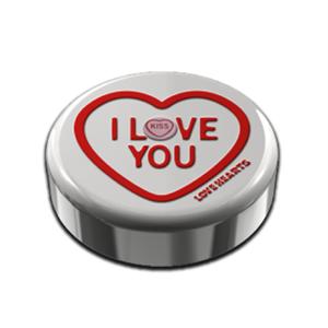 Swizzels Love Hearts Mini Rolls Tin Valentine 100g