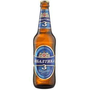Cerveja Baltika N3 4.8% 450ml