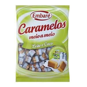 Embaré Caramelos Leite e Coco 150g