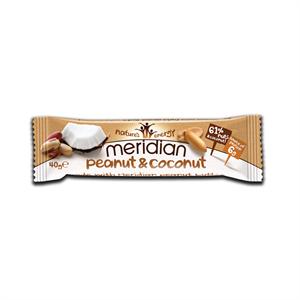 Meridian Gluten Free Peanut & Coconut (6g) Protein Bar 40g