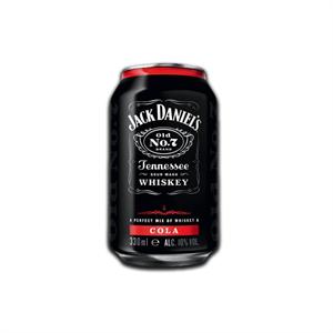 Jack Daniel's Whiskey Cola 330ml