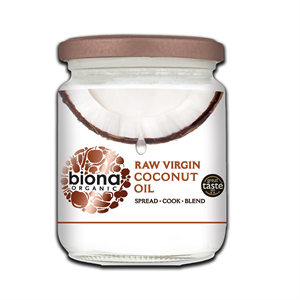 Biona Raw Virgin Coconut Oil 200g
