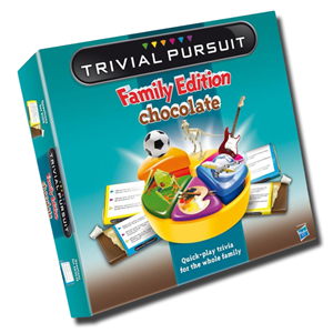 Trivial Pursuit Milk Chocolate Game 154g