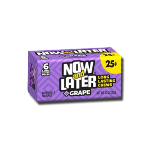 Now and Later Grape 6'