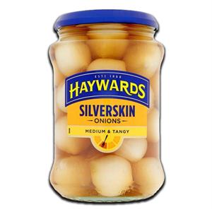 Haywards Medium & Tangy Silverskin Onions 400g