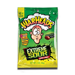 Warheads Extreme Sour Hard Candy 56g