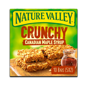 Nature Valley Crunchy Canadian Maple Syrup 5x42g