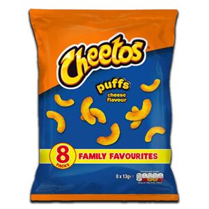 Cheetos Cheese Flavour Puffs 8x13g