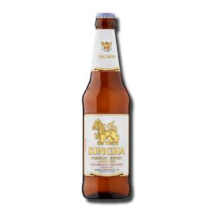 Singha Lager Beer Thai Bottle 330ml