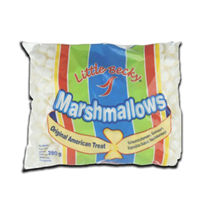 Little Becky Marshmallows Original White 280g