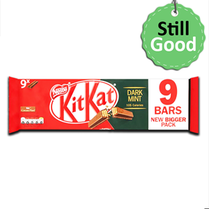 Nestlé Kit kat Dark Mint 9Bars 186.3g