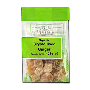 Suma Ginger Crystallised 125g