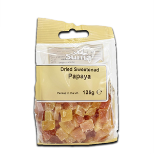 Suma Papaya Dried Sweetened 125g
