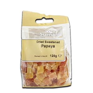 Suma Papaya Dried Sweetened 125g