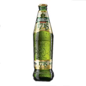 Cerveja Lvivske 1715 Light Filtered 4.7% 450ml