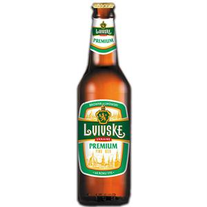 Cerveja Lvivske Premium Lager 4.0% 500ml