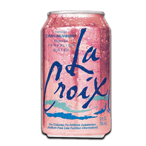 La Croix Cranberry & Raspberry Sparkling Water 355ml