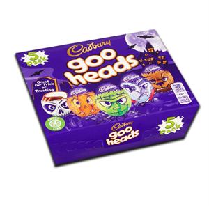 Cadbury Goo Heads Eggs 5x40g