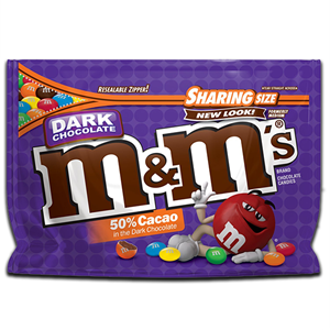 M&M's Dark Chocolate Sharing Size 286.3g