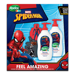 Radox Kids Marvel Spider-Man Bath Body Wash 400ml