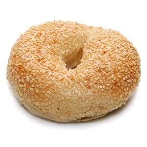 The Natural Bagel Co. 5 Sesame Bagels