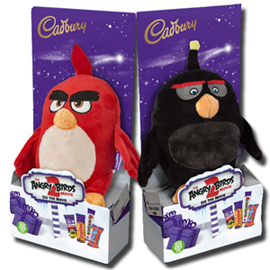 Cadbury Chocolate Angry Birds  Fluffy Toy 70g