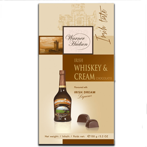 Irish Whiskey Cream Dark Chocolate 150g