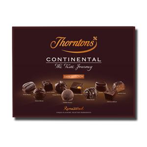 Thorntons Continental Dark Selection 284g